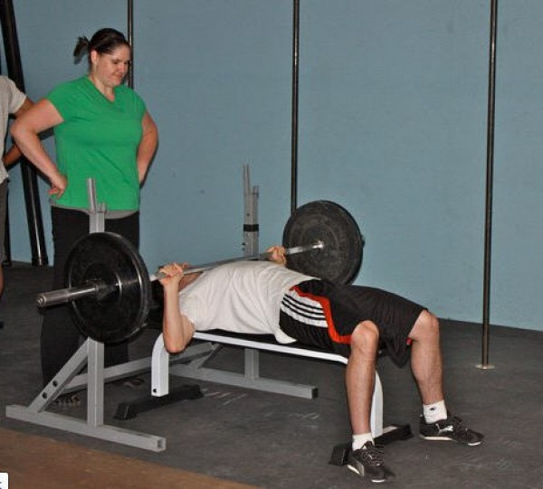 Bench Press Person: CrossFit Love: How Sharing Fitness Has Improved My
