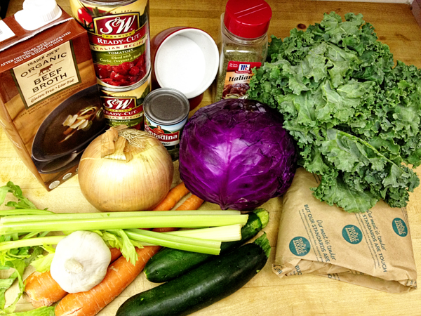 Paleo Minestrone 1