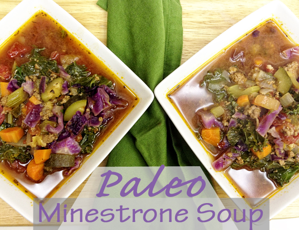 Paleo Minestrone Soup