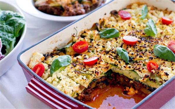 Paleo Zucchini Lasagna