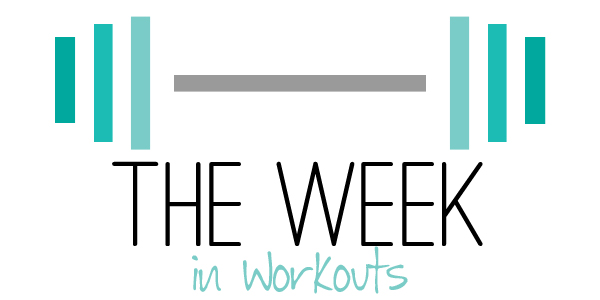 The Week In Workouts