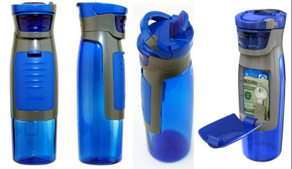 Contigo Water Bottle With Storage Compartment